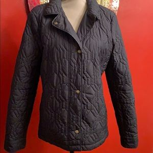 Lands End black jacket size Medium